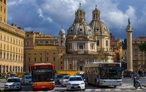 lignes bus rome