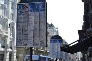arrêts bus rome