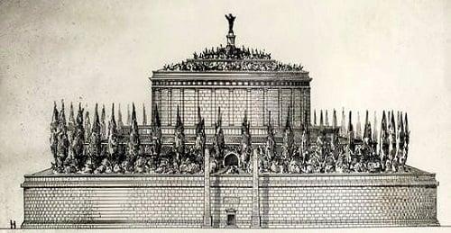 le mausolée d'auguste original