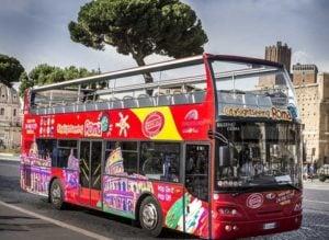bus hop on hop off rome