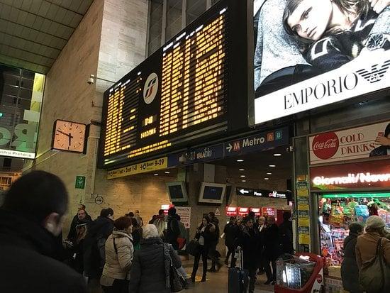 gare termini à rome accès