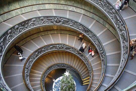 musée vatican escalier bramante