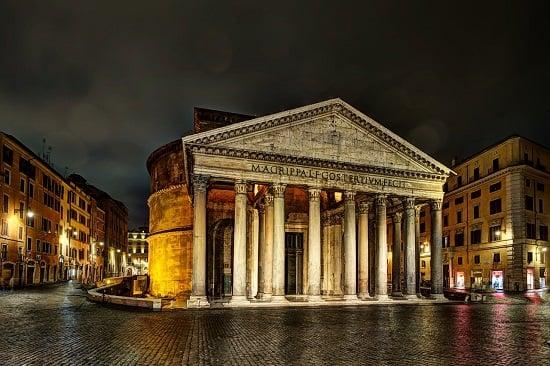 visiter le panthéon à rome