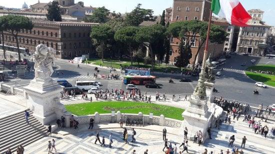 visiter la place de venise à Rome
