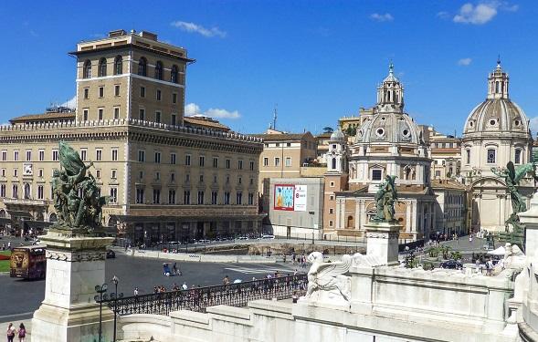 piazza-venezia a rome
