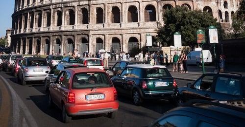 location voiture rome