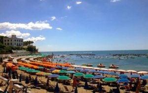 rome plage