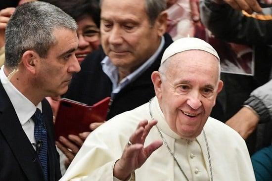 voir le pape